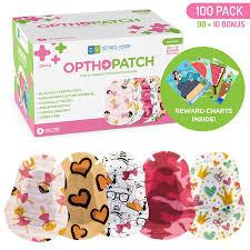 Buy Kids Eye Patches Fun Girls Design 90 10 Bonus