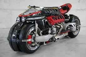 this maserati powered 470 hp 4 wheel motorcycle would make even