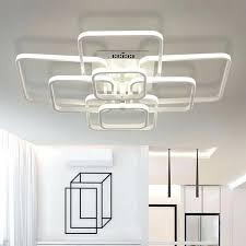 modern led lighting rectangle acrylic aluminum modern led ceiling lights led lighting modern led lights for living room