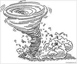 tornado coloring pages. Modren Pages Complete Tornado Coloring Pages Wonderful Printable For Snazzy Book At  Intended L