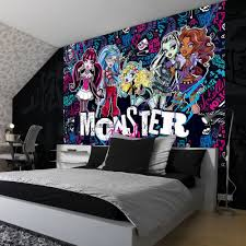 Monster High Bedroom Accessories | Monsters Inc Wall Stickers | Monster  High Wall Decals