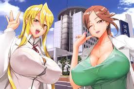 Brunette anime honey getting slammed