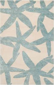 coastal themed area rugs. wonderful themed escape starfish area rug  foggy blue on ivory beach decor coastal home  decor inside themed rugs