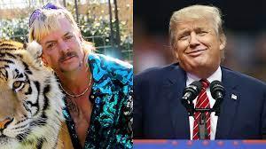 Tiger King vraagt president Trump ...