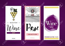 wine packaging template trendy vector wine packaging template royalty free cliparts vectors