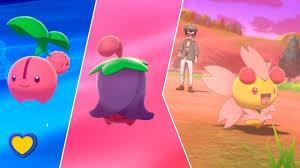 Pokemon Cherrim Evolution Chart How To Get Cherubi Into Cherrim In Pokemon Sword And Shield