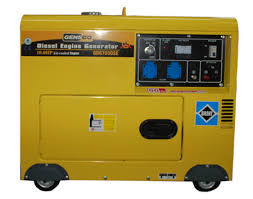 generator. Generator D7000 5500 Watts Portable Diesel Engine 220-240 Volts