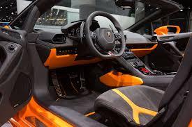 huracan interior orange. this orange lamborghini huracan lp6104 spyder comes with the optional sport seats interior