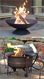 the steel cauldron fire bowl with cover shield looks great in a naturalistic setting choose from 2 models at 34 or 23 5 diameter 9 or 12 height