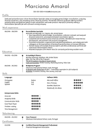 Bank Reconciliation Resume Sample Banking Resume Samples From Real Professionals Who Got Hired