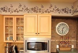 kitchen soffit above kitchen cabinets