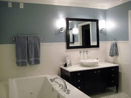 bathroom wall paintbathroom blue wall paint  white subway wall  Traditional  Bathroom