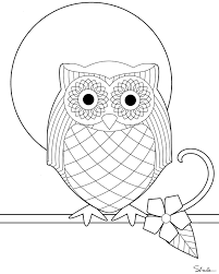 Small Picture Snowy Owl Coloring Pages Coloring Home