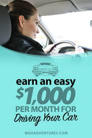 Getting Paid Monthly All About Car Wrap Advertising Earn Up To 1 000 Per Month To Drive