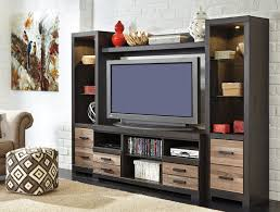 Signature Design by Ashley Harlinton TV Stand with Fireplace