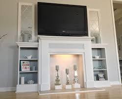 How To Make A Fireplace Mantel And Surround  YouTubeHow To Build A Faux Fireplace