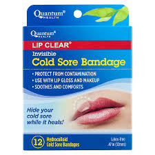 quantum health invisible cold sore bandage12ea