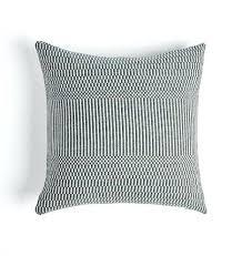 black white pillows striped pillow shams decorative