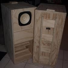 fostex fe206en back loaded horn speaker cabinets