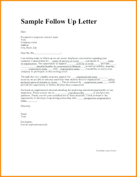Sample Follow Up Email After Submitting Resume Follow Up Letter