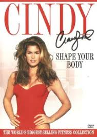 cindy crawford shape your body fitness exercise dvd workout