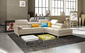 sku 403090 sophisticated modern leather l shape sectional