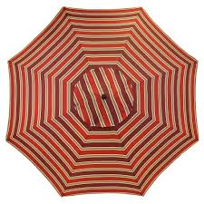 Patterned Patio Umbrellas