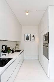 Modern Galley Kitchen Kitchen Room White Galley Kitchen Ideas Modern New 2017 Design