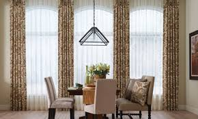 dining room curtains. Dining Room Curtains Window Treatments Blinds For Bay Windows Valance Small In Balloon Pinterest I