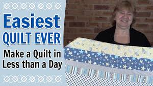 Quilting for Beginners - Easiest Quilt for Beginners Ever ... & Quilting for Beginners - Easiest Quilt for Beginners Ever (Quilting Tutorial ) Adamdwight.com