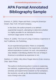 best apa format reference page ideas apa format if you are searching for a perfect apa format annotated bibliography sample you can find