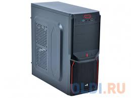 <b>Корпус Aerocool</b> [PGS-V] <b>V3X</b> Advance чёрно-красный — купить ...