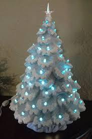 Christmas  Ceramic Christmas Tree With Lights Tabletop Table Top Ceramic Tabletop Christmas Tree With Lights