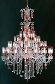 Murano crystal old chandelier