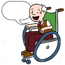 Image result for A DISABLED GUY ILLUSTRATION