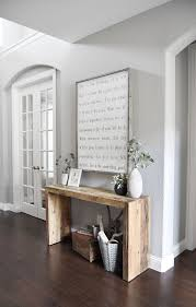 home entrance furniture. console table made from barn board to be used behind sofa in family room i entryway decorentryway furnitureentryway home entrance furniture n