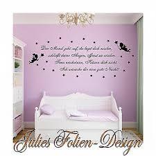 Wandtattoo Kinderzimmer Nr 17 Mond Feen Sterne Gute Nacht Baby