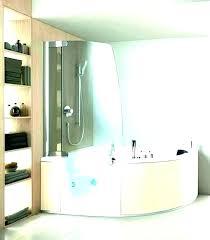 bathtub shower insert one piece tub combo corner bathtubs and home best inserts ho