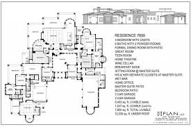 home inspiration enthralling 5000 sq ft ranch house plans 3 000 to 500 square feet