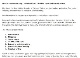 How To Write A Great Video Script For Killer Youtube And