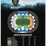 Seating Chart San Diego Seals Lacrosse