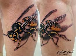 объёмные 3d татуировки фото студия West End спб