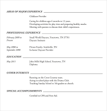 Examples Of Resumes For High School Students Cool 28 Sample High School Resume Templates Sample Templates