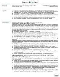 Vice President Marketing Resume Fascinating Resumes And Cover Letters