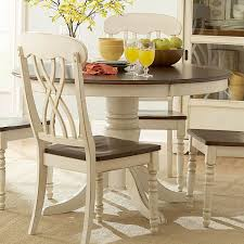 dining table home furniture showroom breakfast table inspiration piece the cream color and antiquing