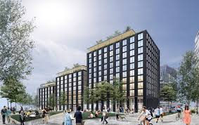 wooden office buildings. Lotus Is Planning An 11-storey Wooden Office Building To Front Riverfront Square, The Buildings