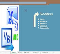 Modelo De Recibo Plantillas Excel Recibos