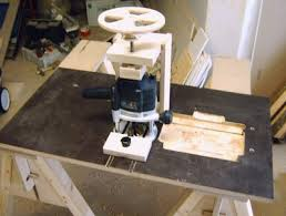 simple homemade router table. simple homemade router table