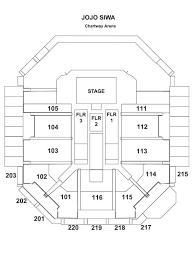 Family Arena Seating Chart Circus Nickelodeons Jojo Siwa D R E A M The Tour Chartway Arena