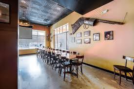 The bar at Lincoln's Bar-B-Que.